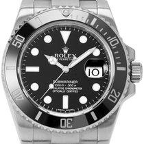 Rolex Stahl Automatik 40mm gebraucht Submariner Date