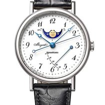 Breguet new Automatic 39mm White gold Sapphire crystal