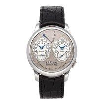 F.P.Journe Chronometre à Resonance Platinum 40mm Grey Arabic numerals United States of America, Pennsylvania, Bala Cynwyd