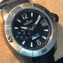 Jaeger-LeCoultre Master Compressor Diving GMT Titanium 44mm Black Arabic numerals