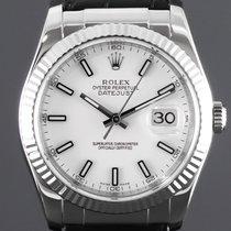 Rolex Белое золото Автоподзавод Белый Без цифр 36mm новые Datejust