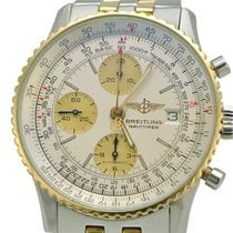 Breitling Old Navitimer Gold/Steel 41.5mm White No numerals United States of America, New York, New York