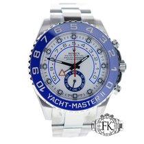 Rolex Yacht-Master II Stainless Steel Blue Ceramic Bezel 116680