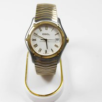 Ebel Classic Gold/Steel 38mm White Roman numerals