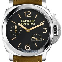 Panerai Luminor 1950 3 Days Power Reserve Steel 47mm Black United States of America, New York, Airmont