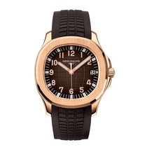 Patek Philippe Aquanaut Oro rosado 40mm Marrón Árabes