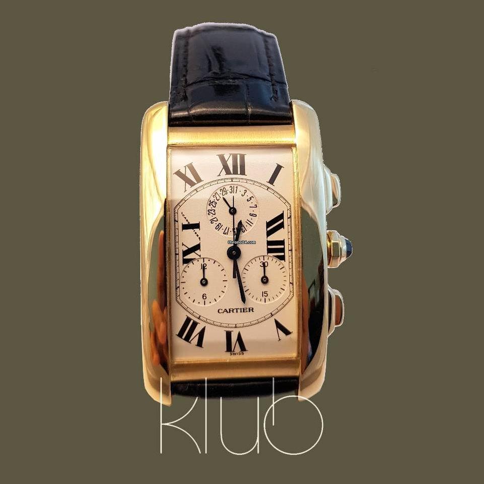 e75d0a557c1 Comprar relógios Cartier Ouro amarelo