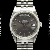Tudor Oyster Prince Date + Day, Grey Dial, Jubilee 94510 NOS