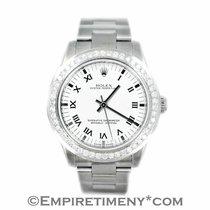 Rolex 177234 Oyster Perpetual 1.03ct Diamonds Bezel Midsize...