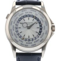 Patek Philippe World Time 5130G Watch with Leather Bracelet...