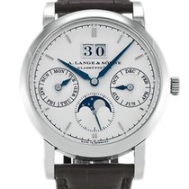 A. Lange & Söhne White gold 39mm Manual winding 330.026E new