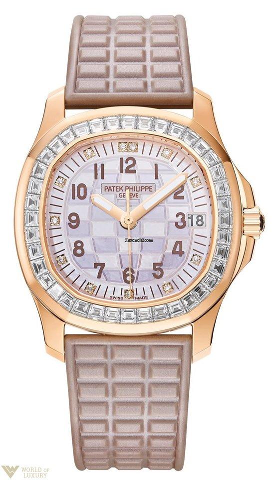 9f5a3cdcb66 Patek Philippe Aquanaut Luce Haute Joaillerie 18k Rose Gold... por Preços  mediante pedido para vender por um Trusted Seller na Chrono24