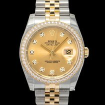 Rolex Datejust Yellow gold 36.00mm Champagne United States of America, California, San Mateo