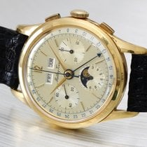 Mathey-Tissot 18K gold Full Calendar Chronograph & Moon phases