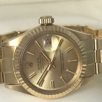 Rolex Lady-Datejust 18 K Gold