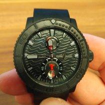 Ulysse Nardin 42,7mm Automatika 2014 použité Diver Chronometer Černá