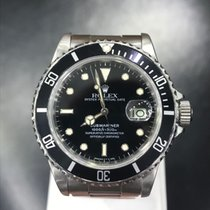 Rolex 16800 Steel 1985 Submariner Date 40mm pre-owned United States of America, New York, New York