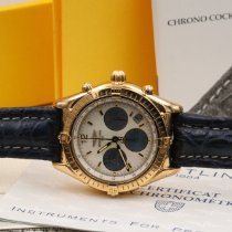 Breitling Yellow gold Automatic 37mm pre-owned Chrono Cockpit