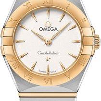 Omega 131.20.25.60.02.002 Goud/Staal 2021 Constellation 25mm nieuw
