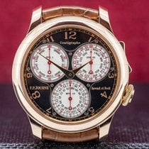 F.P.Journe Chronograph 40mm Manual winding pre-owned Souveraine Black