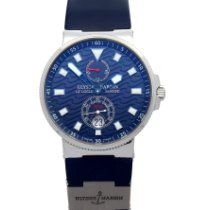 Ulysse Nardin pre-owned Automatic 41mm Blue Sapphire crystal 10 ATM
