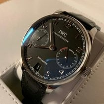 IWC Portuguese Automatic Steel Black Arabic numerals United States of America, New Jersey, MORRISTOWN