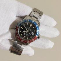 Rolex GMT-Master Stahl 40mm Schwarz Keine Ziffern Schweiz, Lugano