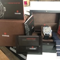 Tudor 79220B Stål 2015 Black Bay 41mm begagnad