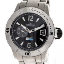 Jaeger-LeCoultre Master Compressor Diving GMT Titanium 46mm Black Arabic numerals