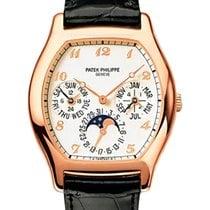 Patek Philippe Perpetual Calendar Růžové zlato 35.25mm Bílá