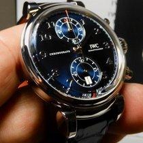 IWC Da Vinci Chronograph Otel 42mm Albastru