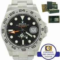 Rolex Explorer II Steel 42mm Black United States of America, New York, Huntington