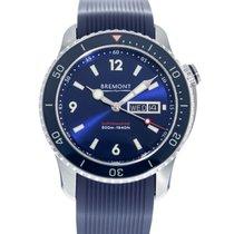 Bremont Supermarine Acier 43mm Bleu