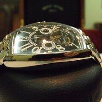 Franck Muller Chronograph 48,5mm Manual winding 2003 pre-owned Cintrée Curvex Black