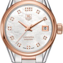 TAG Heuer Carrera Lady Gold/Steel 28mm Mother of pearl United States of America, New York, Airmont