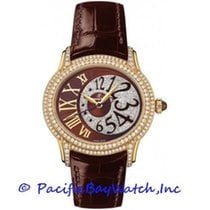 Audemars Piguet Yellow gold Automatic Brown 36mm new Millenary Ladies