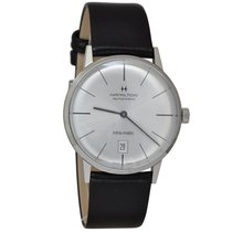 Hamilton Intra-Matic Steel 38mm Grey No numerals