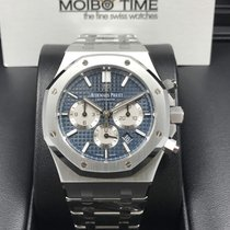 愛彼 (Audemars Piguet) 26331ST Royal Oak Automatic 41mm Blue...