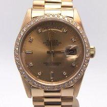 Rolex Day-date President 18kyg Double Quick Set Diamond Bezel...