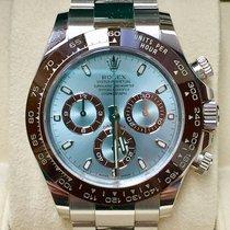 Rolex Daytona 116506 Ice Blue Dial Ceramic Bezel Box & Papers