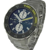 IWC IW376701 Aquatimer Chronograph in Steel - on Bracelet with...