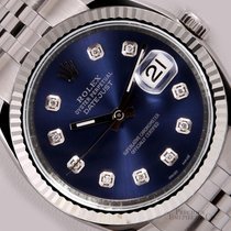 Rolex Datejust 116234 S/Steel 36mm Jubilee-18k Fluted Bezel-Na...