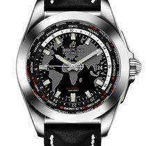 Breitling Galactic Unitime neu 2020 Automatik Uhr mit Original-Box und Original-Papieren WB3510U4/BD94/435X