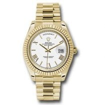 Rolex Day-Date 40 Yellow gold 40mm White Roman numerals United States of America, Pennsylvania, Holland
