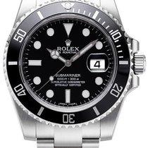 Rolex Submariner Black Ceramic Bezel and Dial Steel 116610LN
