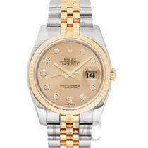 Rolex 116233 G Yellow gold Datejust pre-owned