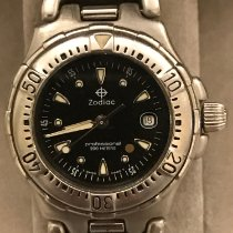 Zodiac Steel 29mm Quartz 308.28.08 pre-owned