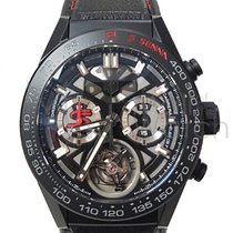 TAG Heuer Carrera Heuer-02T 45mm Black
