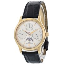 Jaeger-LeCoultre 37mm Automatic pre-owned Master Control (Submodel) Champagne
