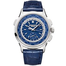 Patek Philippe World Time Chronograph new Automatic Watch with original box and original papers 5930G-001